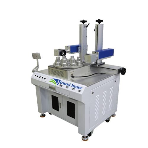 光纤激光打标机-DH-Y双头多工位激光打标机