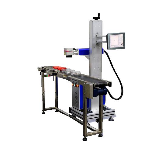 流水线激光喷码机-JXP-Y端泵激光喷码机