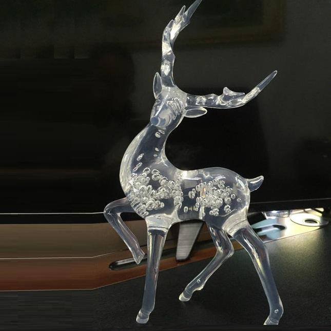 激光雕刻对于圣诞节有机玻璃产品的雕刻解决方案